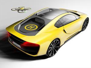 Rinspeed Σtos -Ethos-,el vehículo autónomo con drone incluido