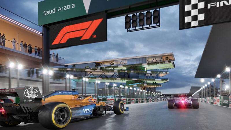Arabia Saudita tendrá el circuito callejero más rápido en la historia de la F1