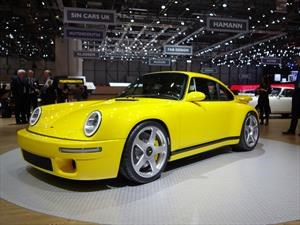 RUF CTR 2017, como un fénix, regresa el Yellowbird