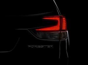 Subaru Forester 2019, un pequeño teaser antes de su aparición