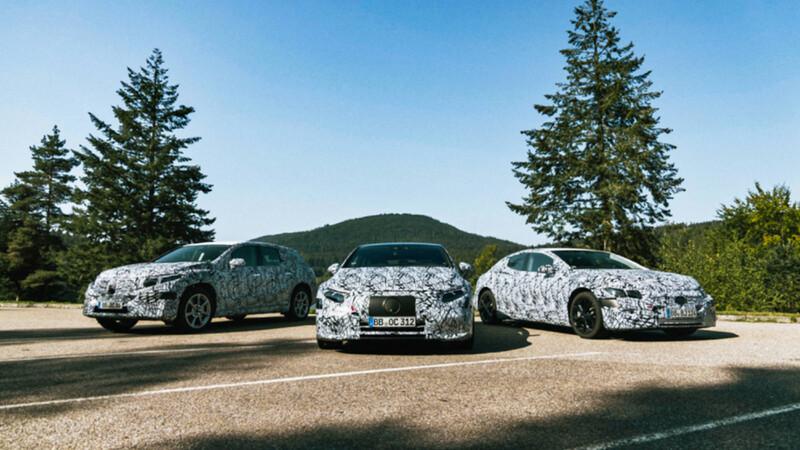 Mercedes-Benz anuncia el lanzamiento de 6 nuevos modelos para su familia eléctrica EQ
