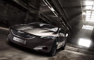 Peugeot HX1 concept en el Salón de Frankfurt 2011
