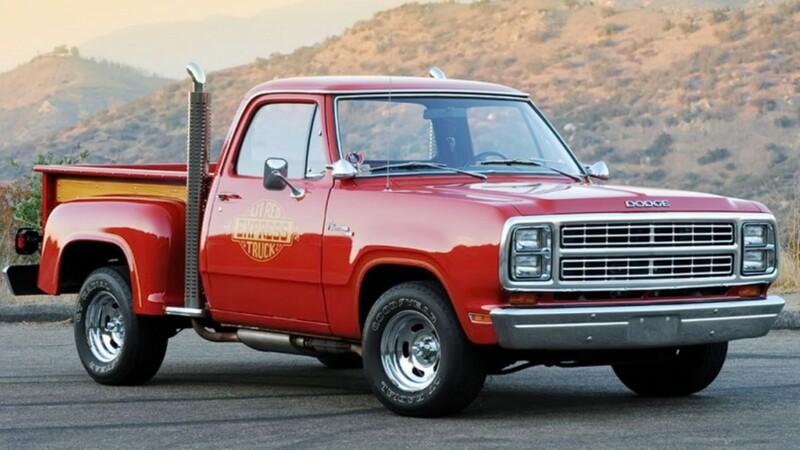 Dodge Li'l Red Express Truck, la poderosa y extravagante pickup icono de la década de 1970