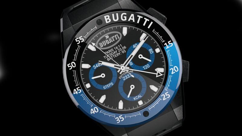 Bugatti presenta línea de smartwatch