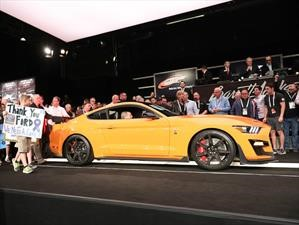 Ford Mustang Shelby GT500 2020 No. 1 es subastado en más de 20 millones de pesos
