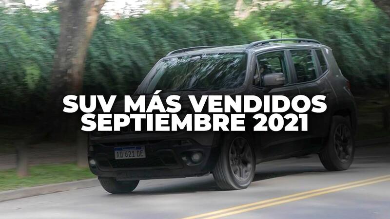 SUV más vendidos en Colombia en septiembre de 2021