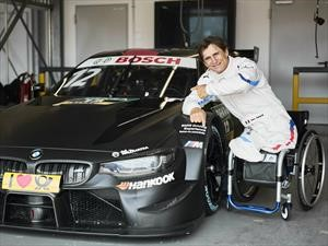 Alex Zanardi conducirá un BMW M4 DTM modificado
