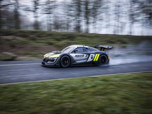 Renault Sport R.S. 01 se disfraza de patrulla