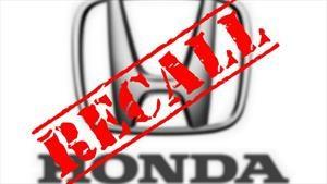 Honda llama a revisión a 137,000 unidades de la CR-V 2019