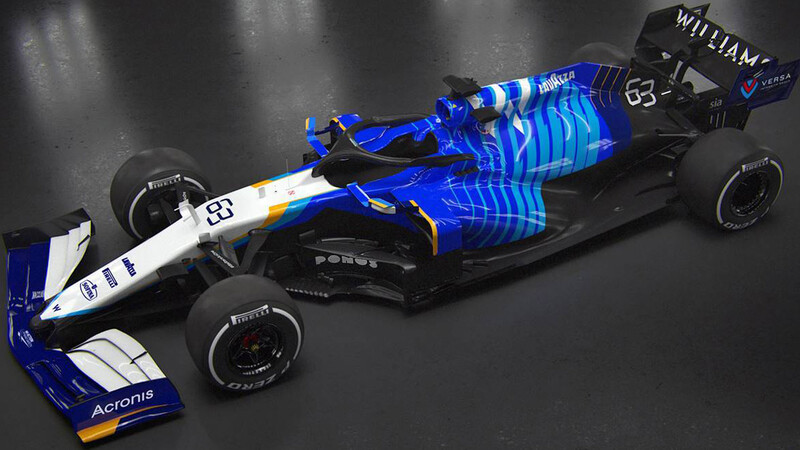 Williams FW43B-Mercedes, el caballero azul de la F1 2021