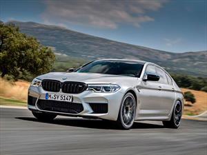 BMW M5 Competition llega a México con una mejor puesta a punto