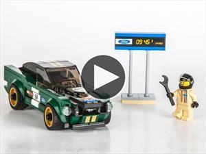 Video: LEGO lanza su pequeña versión del Ford Mustang Fastback 1968