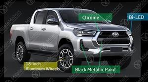 Así será el rediseño de la Toyota Hilux 2021
