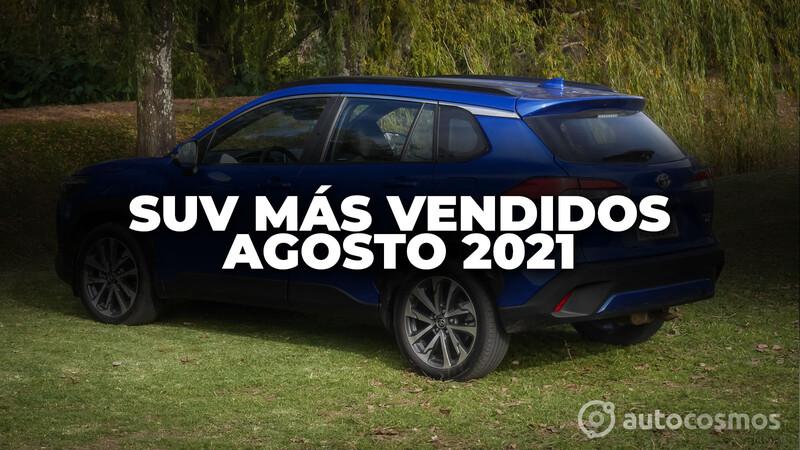 Los SUV más vendidos de Argentina en agosto de 2021