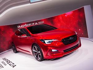 Subaru Impreza Sedan Concept, un vistazo a la siguiente generación
