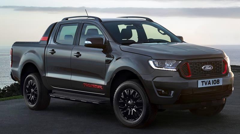 Ford Ranger Thunder, algo más agresividad pero sólo para Europa