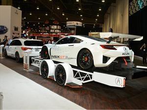 Acura MDX 2017, el vehículo ideal para remolcar al NSX GT3