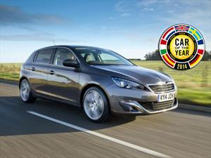 Peugeot 308 es nombrado el European Car of the Year 2014