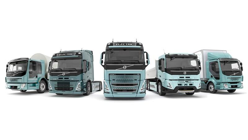 Volvo Trucks lanza una completa línea de camiones y tractocamiones eléctricos