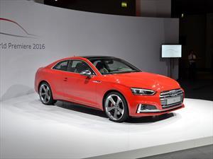 Audi A5 y S5 Coupé 2017: Se presenta la segunda generación