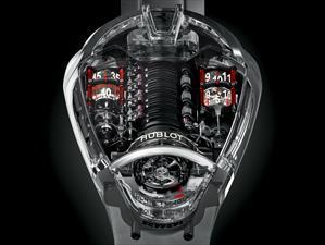 Hublot MP-05 Ferrari LaFerrari Sapphire, una máquina increíble