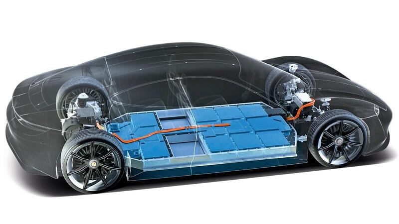Porsche producirá baterías para sus autos y SUVs eléctricos