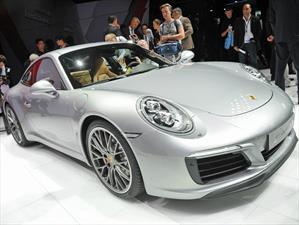 Porsche 911 Carrera 2017, más poder y eficiencia