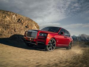 Rolls-Royce entra al mundo de las SUV's con la Cullinan