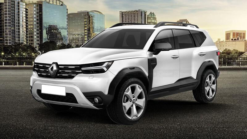 ¿Y si el nuevo Renault Duster se ve así?