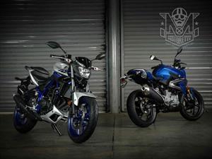 Duelo de titanes: BMW G 310 R vs Yamaha MT-03