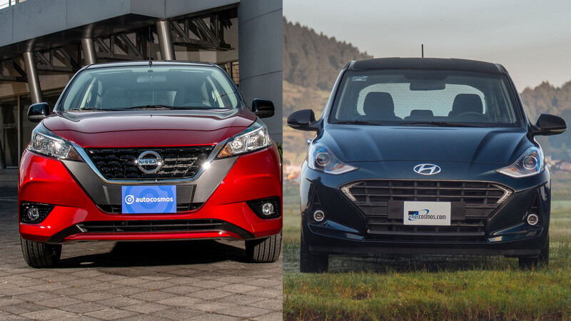Nissan March vs Hyundai Grand i10 ¡duelo de urbanos bitono! ¿cuál es mejor?