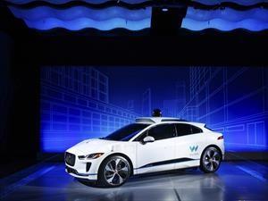 Waymo Jaguar I-PACE EV: principio de conducción autónoma