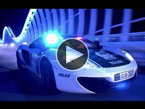 Video: La policía de Dubái presume de sus patrulleros