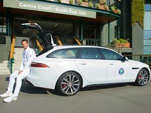 Presentan en Wimbledon al nuevo Jaguar XF Sportbrake