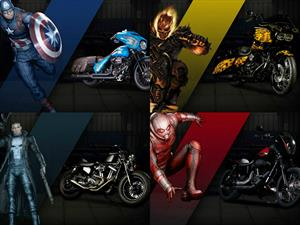 Harley Davidson y Marvel conmemoraron los 75 años del Capitán América