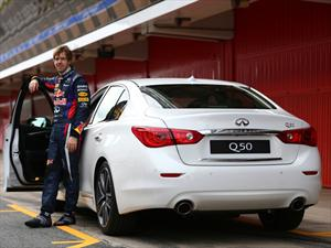 Infiniti tendrá a  Sebastian Vettel  como  su Director de Performance