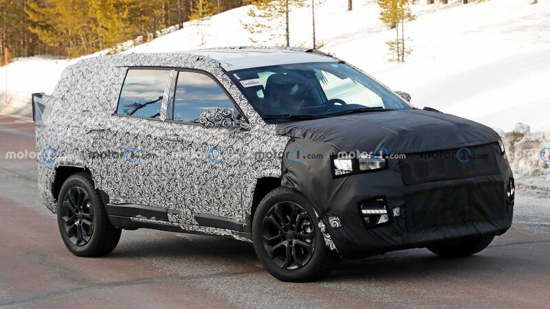 Jeep de 7 asientos será un mix entre el Compass y el Grand Cherokee