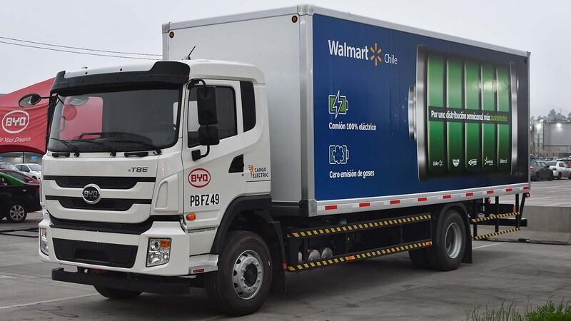 Cargo Electric y BYD comienzan prueba piloto del primer camión eléctrico de alto tonelaje en Chile