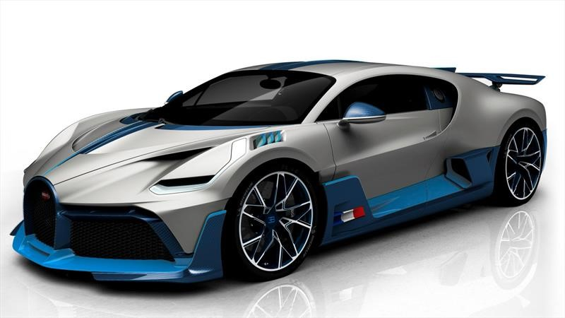 Bugatti muestra sus primeros cuatro Divos