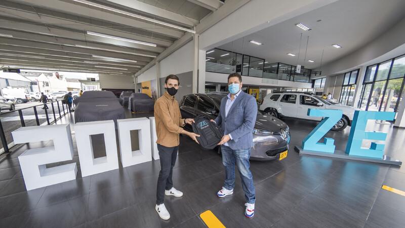 El Renault eléctrico número dos mil en América fue vendido en Colombia