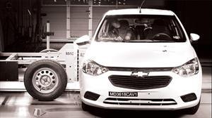 El Chevrolet Aveo 2020 es más seguro, logra 3 estrellas en pruebas de Latin NCAP