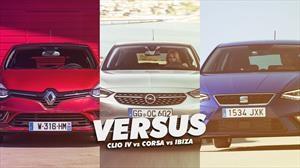 Versus: Opel Corsa vs Seat Ibiza vs Renault Clio