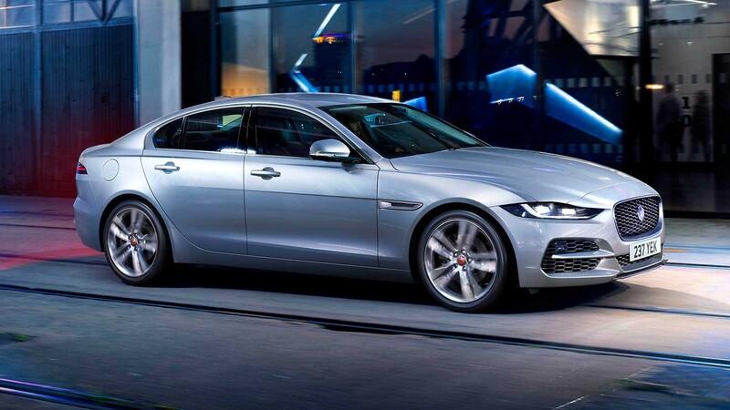 Jaguar XE 2021 en Chile: gama reducida y discretas mejoras