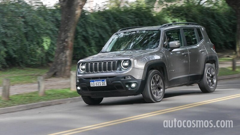Jeep Renegade lidera las ventas de los SUV en Argentina