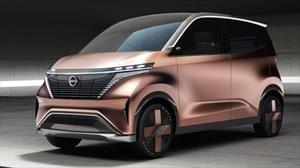 Nissan IMk es un concepto que deja ver cómo serán los autos eléctricos del futuro