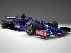 2019 F1: Toro Rosso muestra su nuevo STR14