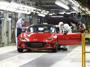 Mazda alcanza 50 millones de automóviles producidos en Japón