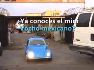 Pura diversión: Un mini Escarabajo es furor en México