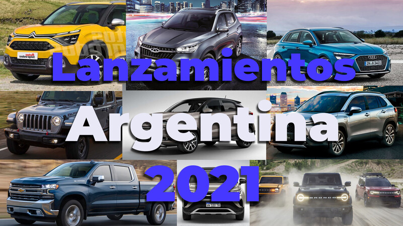 Los lanzamientos automotrices para Argentina en 2021