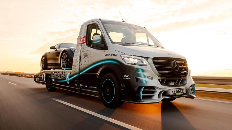 Sprinter V6 AMG Petronas by Kegger, la grúa que le encantaría a Lewis Hamilton